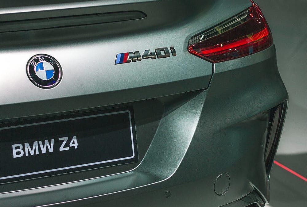 Foto BMW Z4 für den Salzburgring