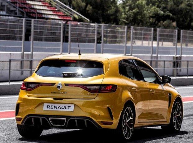 Der Salzburgring: Ideallinie mit einem Renault Mégane R.S.