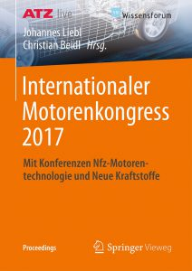 Bild Vortragsband Internationaler Motorenkongress 2017
