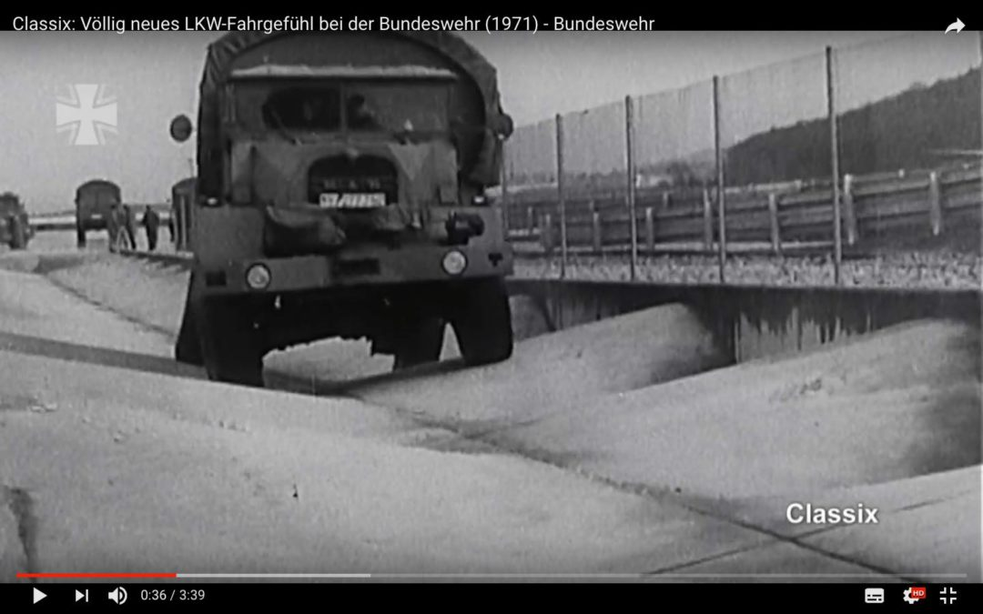 Bild aus dem Video zur Fahrerprobung