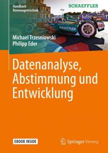 Cover des Buches Datenanalyse, Abstimmung und Entwicklung (Handbuch Rennwagentechnik)