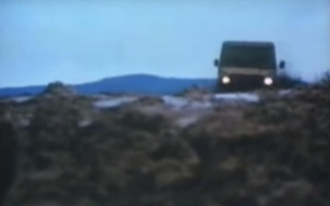 Historische Fahrzeugerprobung: Mercedes-Benz G-Klasse – Geländewagen in der Erprobung