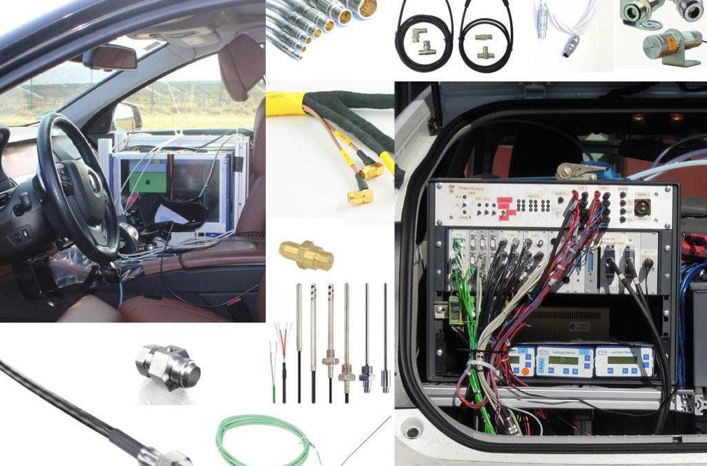 Informationen für den Projektstart in der Fahrzeugdauererprobung – Teil 4a: Messverkabelungen in Versuchsfahrzeugen