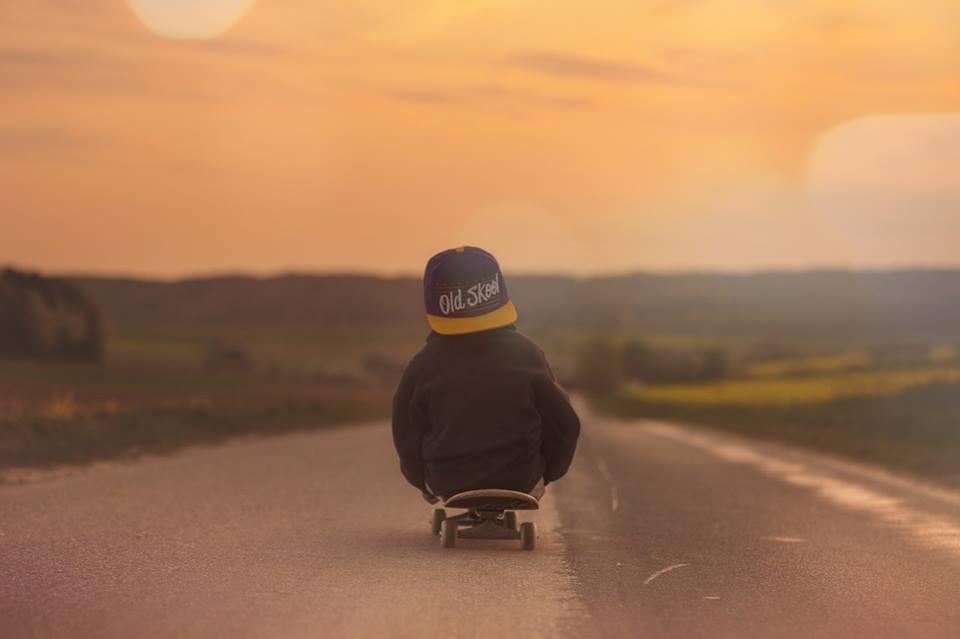 Foto Skateboard mit Jungen